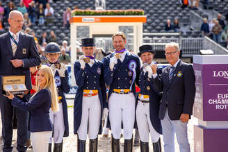 Rotterdam/NLD: Bronze for Sweden