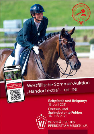 Davalerian on the cover of the Westphalian Summer Auction