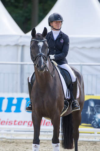 Warendorf: Silver for Dark Diamond HM