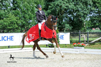 Preußisch Stroehen: First advanced level class (S) victory for Best For Me OLD