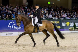 Frankfurt: Real Dancer FRH fourth in Special